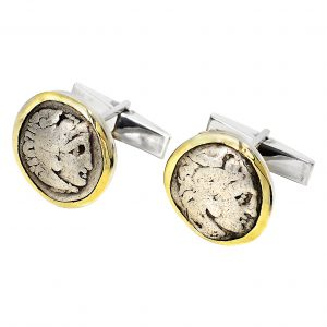 Alexander the Great Coin Cufflinks