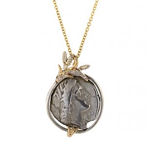 Demeter Coin Pendant